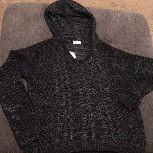 black sweater with hoodie brand new